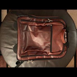 Men's Wilson leather brown back pack